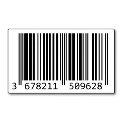 50 Unieke Officiële EAN Codes