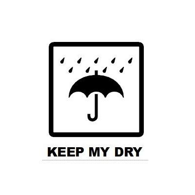 Sticker Keep my Dry